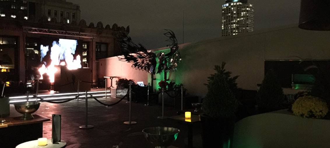 Harman Professional Solutions Recently Provided A Significant Sound And Lighting Upgrade To The Stratus Rooftop Lounge Technology Overhaul Included Jbl