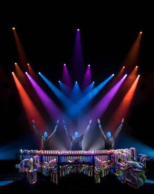 Robe Blue Man Group Photo by Lindsey Best BMD3499