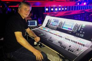 Playback's dLive systems on the Voice, with Fikret Yumerov, FOH engineer at Ata TV studio.