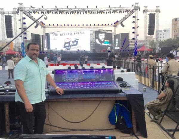 IND: Taher Sound Adds dLive To Inventory