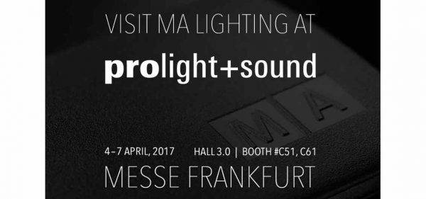 Prolight + Sound: MA Lighting's Newest Software Release
