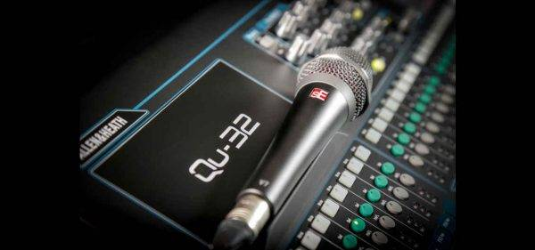 Allen & Heath Adds sE Electronics To Profactory Mic Presets