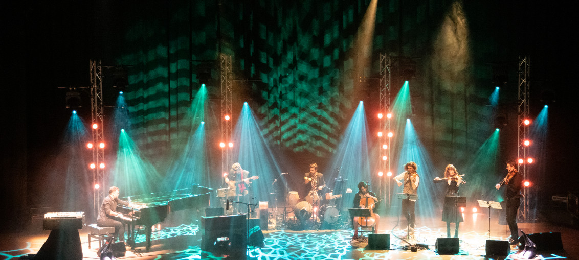 Penguin Cafe Delivers Electrifying Tour Lighting with Martin
